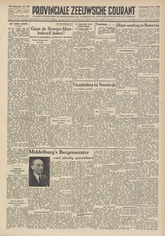 Provinciale Zeeuwse Courant 1946-11-06
