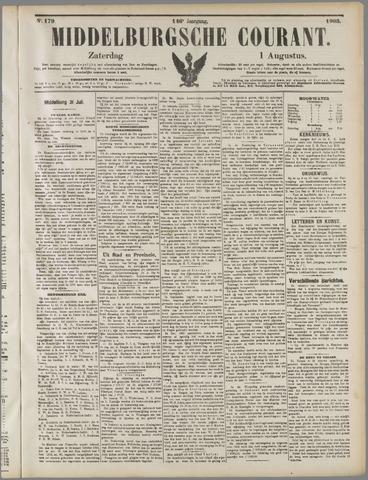 Middelburgsche Courant 1903-08-01