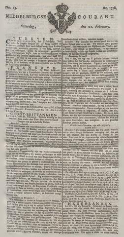 Middelburgsche Courant 1778-02-21