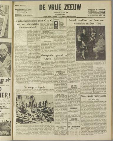 de Vrije Zeeuw 1960-03-09