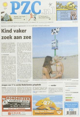 Provinciale Zeeuwse Courant 2009-08-05