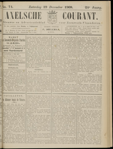 Axelsche Courant 1908-12-19