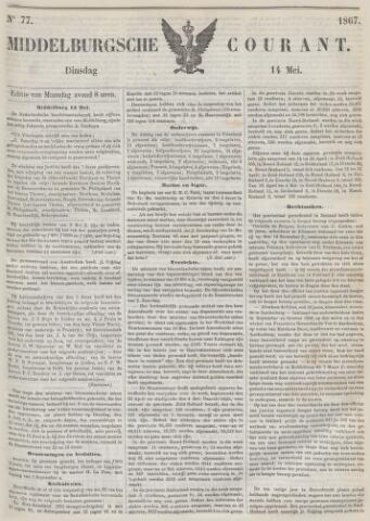 Middelburgsche Courant 1867-05-14
