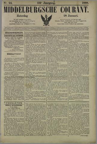 Middelburgsche Courant 1888-01-28