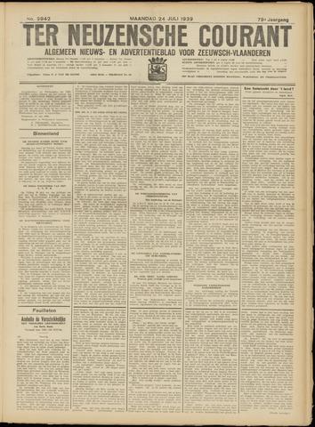 Ter Neuzensche Courant. Algemeen Nieuws- en Advertentieblad voor Zeeuwsch-Vlaanderen / Neuzensche Courant ... (idem) / (Algemeen) nieuws en advertentieblad voor Zeeuwsch-Vlaanderen 1939-07-24