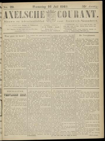 Axelsche Courant 1919-07-16