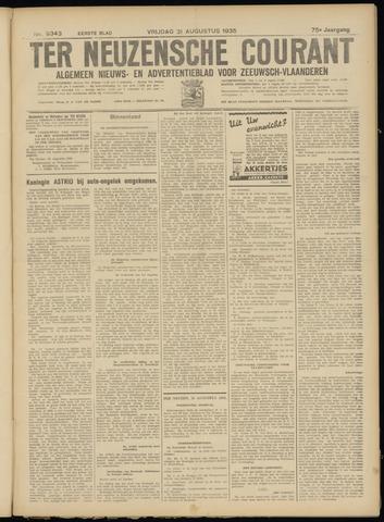 Ter Neuzensche Courant. Algemeen Nieuws- en Advertentieblad voor Zeeuwsch-Vlaanderen / Neuzensche Courant ... (idem) / (Algemeen) nieuws en advertentieblad voor Zeeuwsch-Vlaanderen 1935-08-30