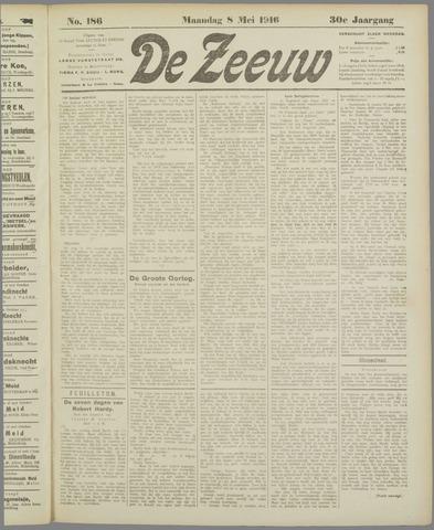 De Zeeuw. Christelijk-historisch nieuwsblad voor Zeeland 1916-05-08