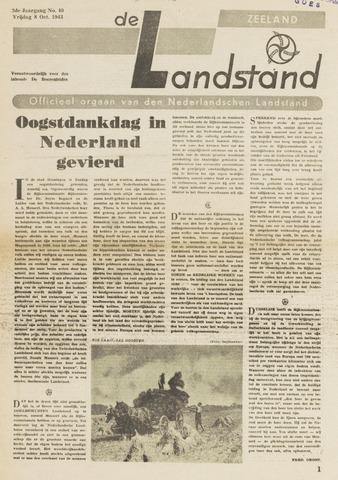 De landstand in Zeeland, geïllustreerd weekblad. 1943-10-08