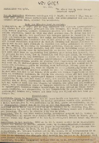Vrij Goes 1944-10-06