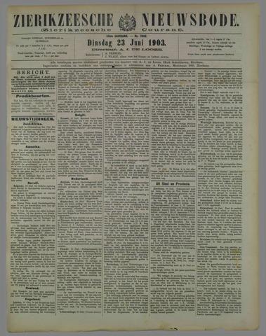 Zierikzeesche Nieuwsbode 1903-06-23