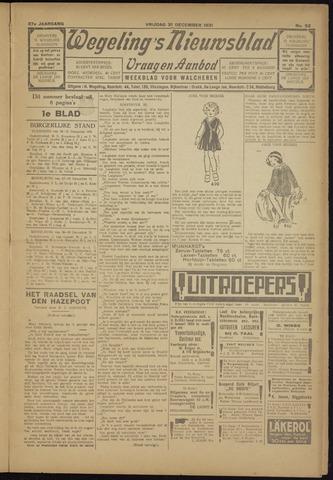 Zeeuwsch Nieuwsblad/Wegeling's Nieuwsblad 1931-12-31