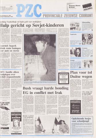 Provinciale Zeeuwse Courant 1990-12-14