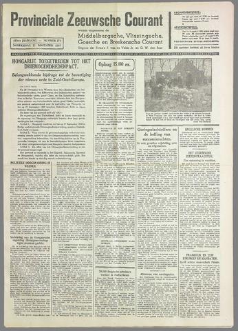 Provinciale Zeeuwse Courant 1940-11-21