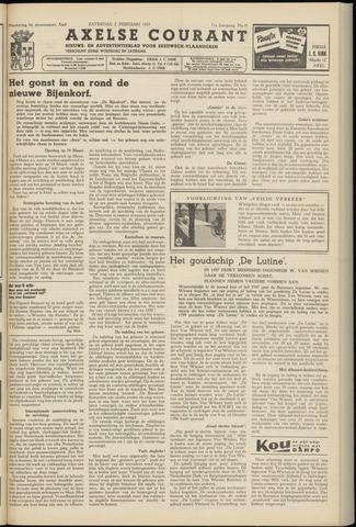 Axelsche Courant 1957-02-02