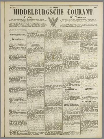 Middelburgsche Courant 1906-11-30