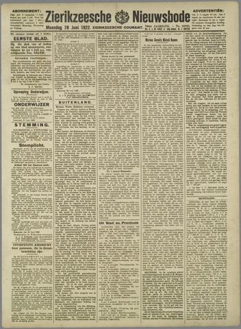 Zierikzeesche Nieuwsbode 1922-06-26