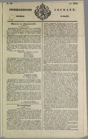 Zierikzeesche Courant 1844-03-19
