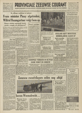 Provinciale Zeeuwse Courant 1960-01-14