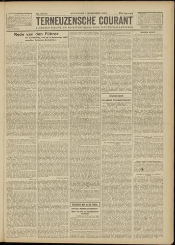 Ter Neuzensche Courant. Algemeen Nieuws- en Advertentieblad voor Zeeuwsch-Vlaanderen / Neuzensche Courant ... (idem) / (Algemeen) nieuws en advertentieblad voor Zeeuwsch-Vlaanderen 1942-11-11