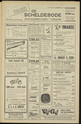 Scheldebode 1955-04-01
