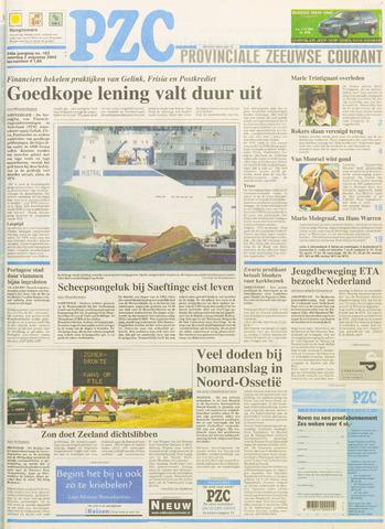 Provinciale Zeeuwse Courant 2003-08-02