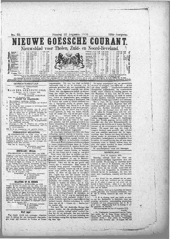 Nieuwe Goessche Courant 1876-08-22