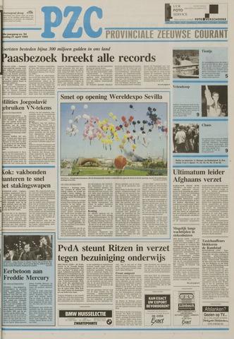 Provinciale Zeeuwse Courant 1992-04-21