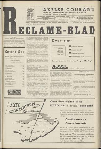 Axelsche Courant 1958-03-26