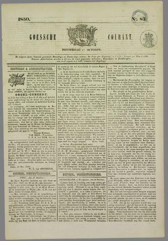 Goessche Courant 1850-10-17