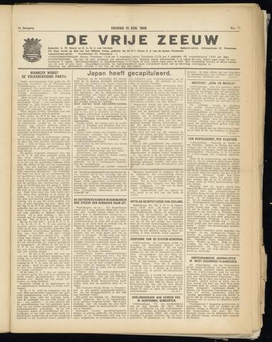 de Vrije Zeeuw 1945-08-10