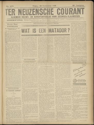 Ter Neuzensche Courant. Algemeen Nieuws- en Advertentieblad voor Zeeuwsch-Vlaanderen / Neuzensche Courant ... (idem) / (Algemeen) nieuws en advertentieblad voor Zeeuwsch-Vlaanderen 1928-09-28