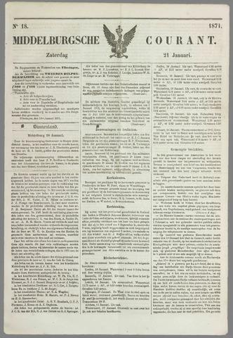 Middelburgsche Courant 1871-01-21