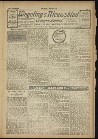 Zeeuwsch Nieuwsblad/Wegeling's Nieuwsblad 1929-03-01