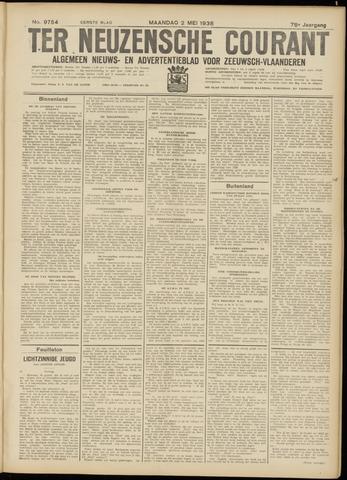 Ter Neuzensche Courant. Algemeen Nieuws- en Advertentieblad voor Zeeuwsch-Vlaanderen / Neuzensche Courant ... (idem) / (Algemeen) nieuws en advertentieblad voor Zeeuwsch-Vlaanderen 1938-05-02