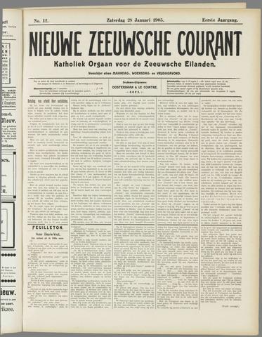 Nieuwe Zeeuwsche Courant 1905-01-28