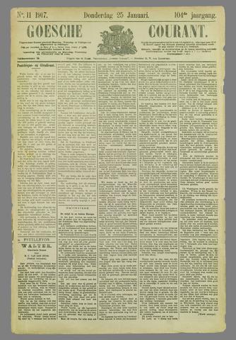 Goessche Courant 1917-01-25
