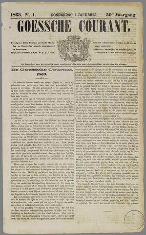 Goessche Courant 1863