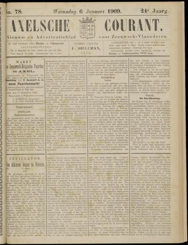 Axelsche Courant 1909-01-06