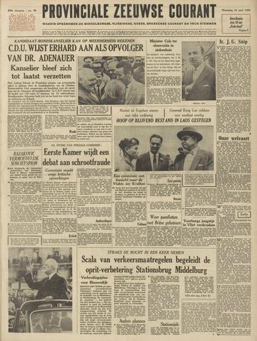 Provinciale Zeeuwse Courant 1963-04-24
