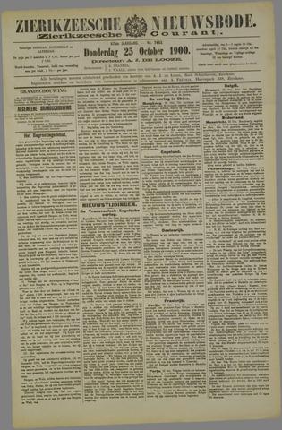 Zierikzeesche Nieuwsbode 1900-10-25
