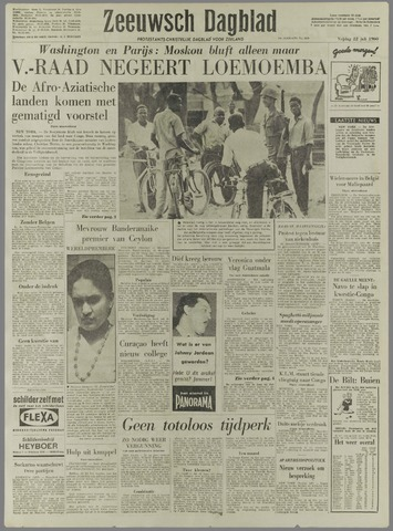 Zeeuwsch Dagblad 1960-07-22