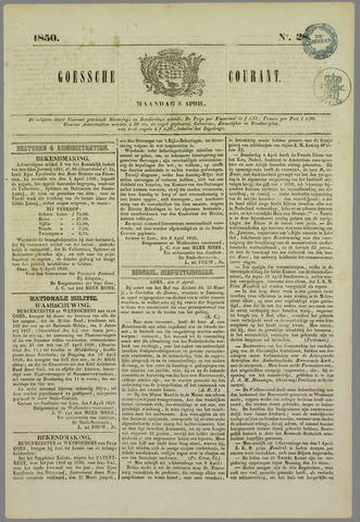 Goessche Courant 1850-04-08