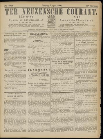 Ter Neuzensche Courant. Algemeen Nieuws- en Advertentieblad voor Zeeuwsch-Vlaanderen / Neuzensche Courant ... (idem) / (Algemeen) nieuws en advertentieblad voor Zeeuwsch-Vlaanderen 1901-04-02