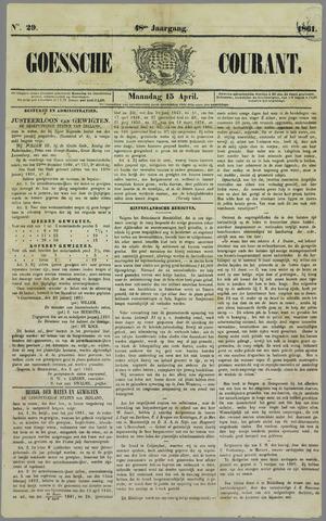 Goessche Courant 1861-04-15