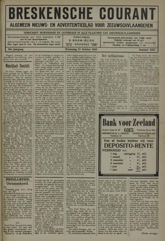 Breskensche Courant 1920-10-27