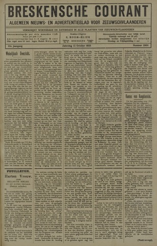 Breskensche Courant 1923-10-13