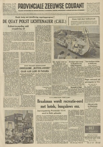 Provinciale Zeeuwse Courant 1959-04-27