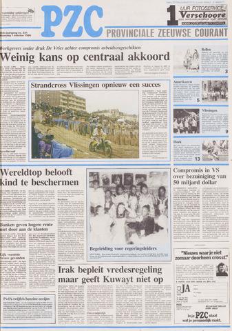 Provinciale Zeeuwse Courant 1990-10-01