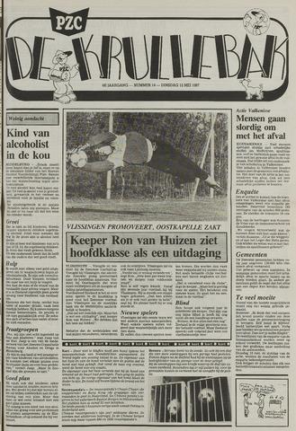 Provinciale Zeeuwse Courant katern Krullenbak (1981-1999) 1987-05-12